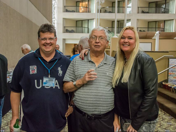 Brian Carberry, Don Bigsby and Wendy Wickstrom