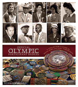 olympic badges book cover