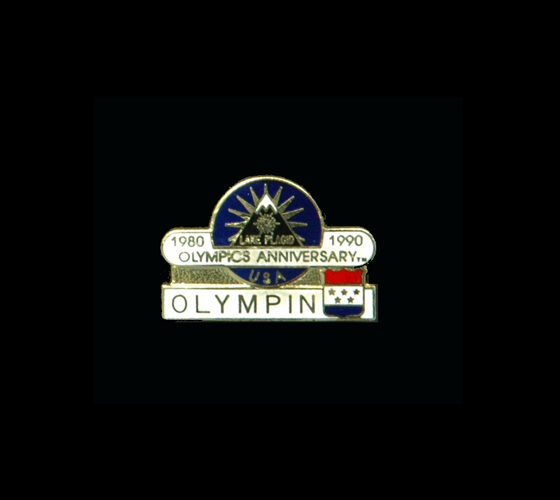 1990 10th Anniversary Sponsor of 1980 Lake Placid Games (200)